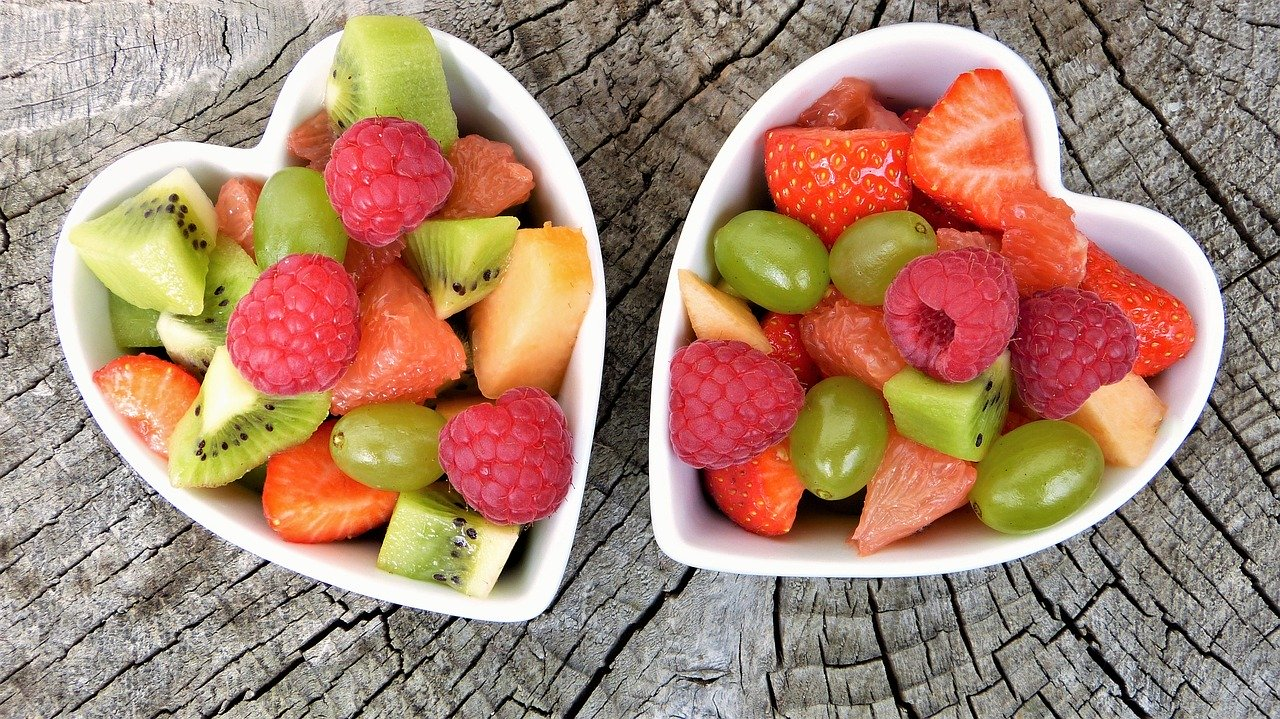 Make yourself some simple healthy pots of fruit to take to work for when you need to grab a quick and healthy snack